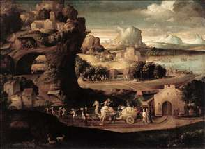 Landscape with Magicians