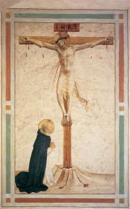 Crucifixion with St Dominic (Cell 17)