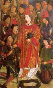 Altarpiece of Saint Vincent, the Archbishop panel