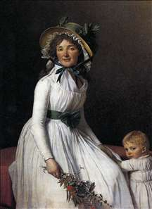 Portrait of Emilie Sériziat and her Son