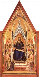 The Stefaneschi Triptych: Christ Enthroned