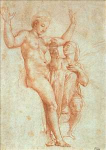 Psyche Offering Venus the Water of Styx