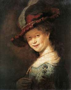 Portrait of the Young Saskia