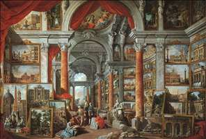 Picture Gallery with Views of Modern Rome