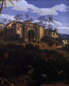 View of Olinda, Brazil (detail)