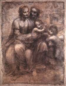 Madonna and Child with St Anne and the Young St John