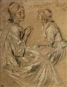 Two Seated Women