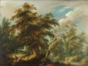 Hunters in a Forest