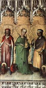 Sts Mark, Barbara and Luke