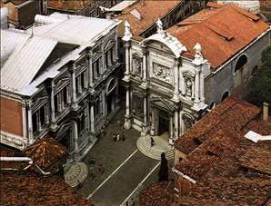 View of Campo di San Rocco