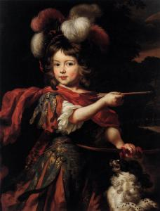 Portrait of a Boy as Adonis