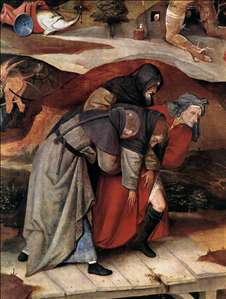 Triptych of Temptation of St Anthony