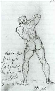 Study after Michelangelo