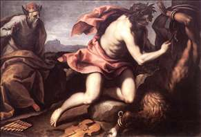 Apollo and Marsyas (2)