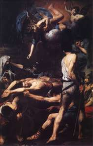 Martyrdom of St Processus and St Martinian