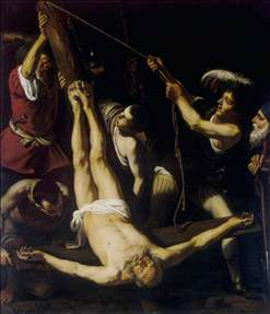 Martyrdom of St Peter