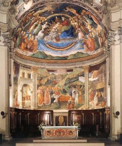 View of the Apse of the Cathedral