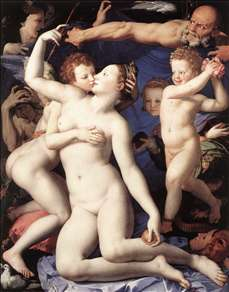 Venus, Cupide and the Time (Allegory of Lust)