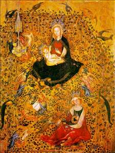 Madonna in the Rosary