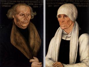 Portraits of Hans Luther and Margaretha Luther