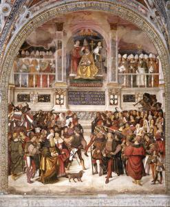 The Coronation of Pope Pius III