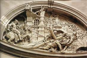 The Fall of Christ under the Cross