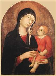 Madonna and Child (from Castiglione d'Orcia)