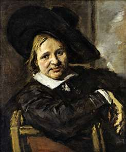 Portrait of a Man in a Slouch Hat