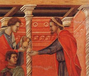 Pilate Washing his Hands (detail)