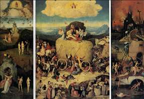 Triptych of Haywain
