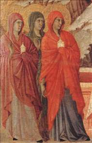 The Three Marys at the Tomb