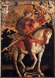 St Chrysogonus on Horseback