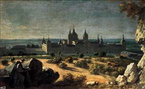 View of the Monastery of El Escorial