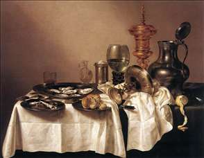 Still-life with Gilt Goblet
