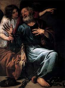 The Liberation of St Peter by an Angel