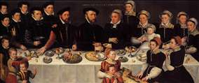 Portrait of the De Mucheron Family