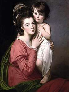 Portrait of Mrs Henrietta Morris and Her Son John