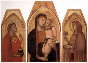 Madonna and Child with Mary Magdalene and St Dorothea