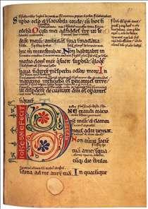Psalter with the Gloss