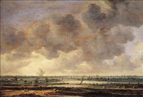 View of the Haarlemmermeer