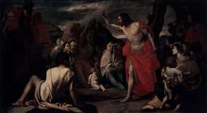 The Preaching of St John the Baptist in the Desert