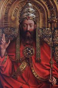 The Ghent Altarpiece: God Almighty