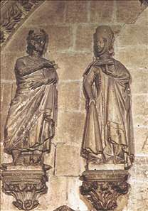 Alfonso X and Doña Violante