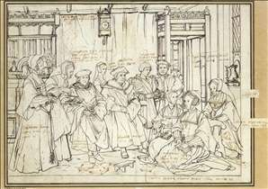 Study for the Family Portrait of Sir Thomas More