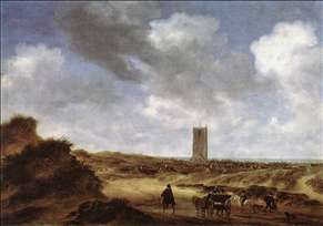 View of Egmond aan Zee
