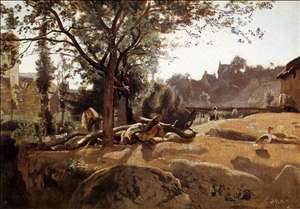 Peasants under the Trees at Dawn