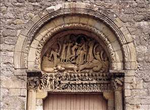 Tympanum and lintel