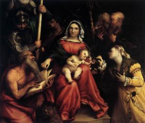 Mystic Marriage of St Catherine