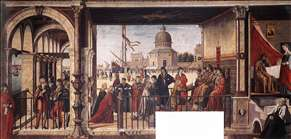Arrival of the English Ambassadors