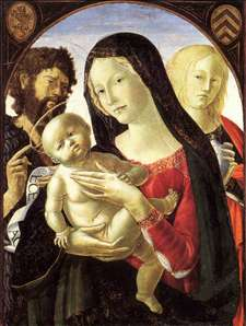 Madonna and Child with St John the Baptist and St Mary Magdalene